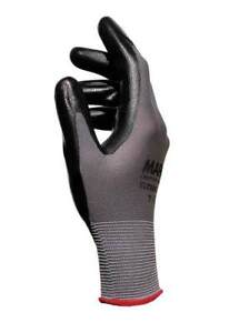 H//Dext - Pack Of 10 Gloves Black Sz.7 Mapa Professional Ultrane 548 Poly Pr