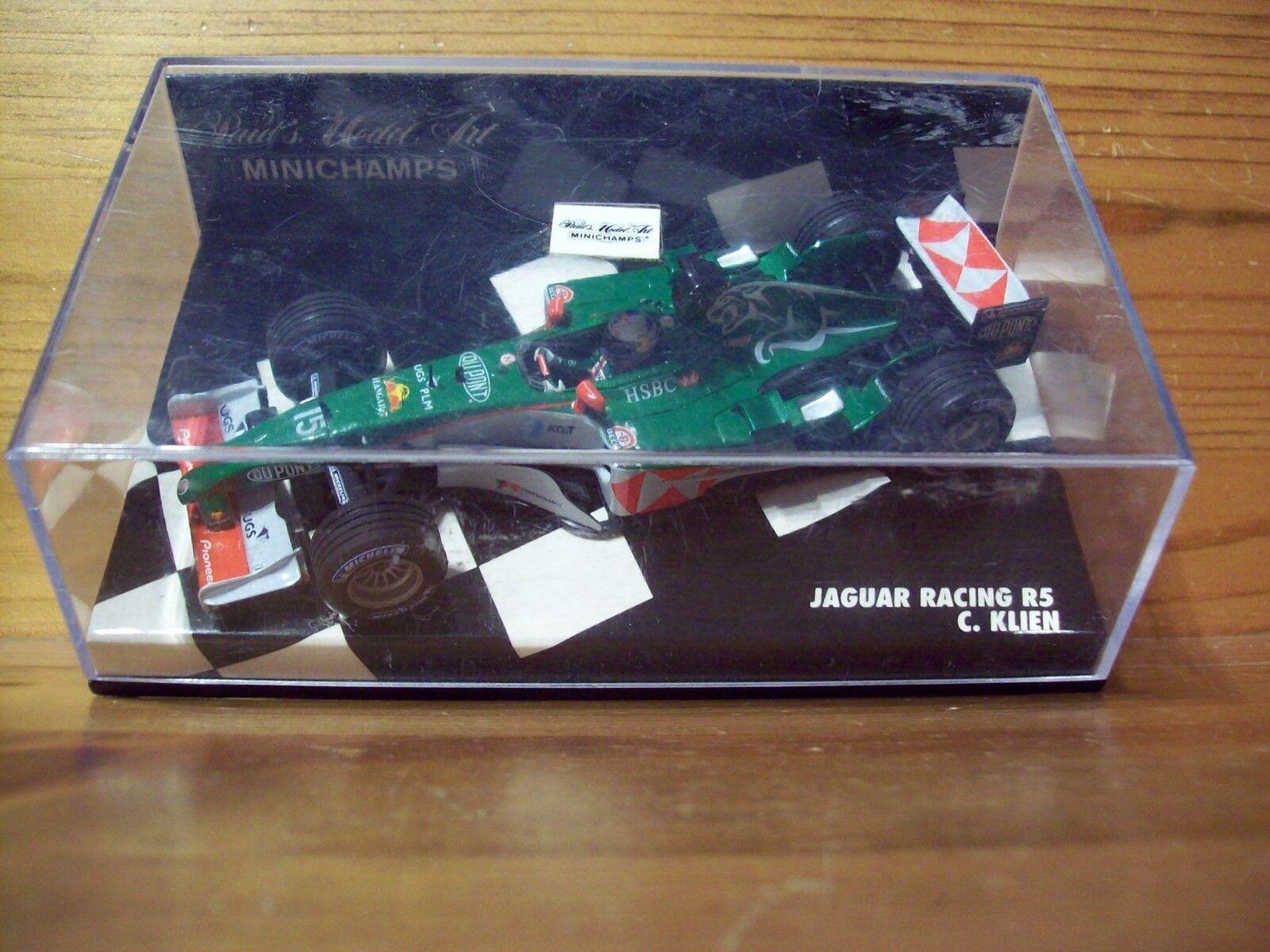 1 43 JAGUAR RACING R5 2004 CHRISTIAN KLIEN