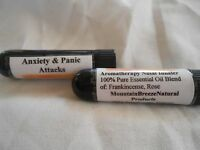 Anxiety And Panic Attacks Essential Oils Aromatherapy Nasal Inhaler