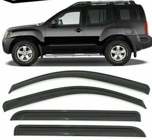 Fits-05-16-Nissan-Xterra-Acrylic-Window-Visors-4Pc
