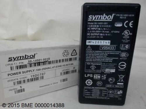NEW 47-63HZ SYMBOL POWER SUPPLY ADAPTOR 50-14001-001-100-250V  1A MAX