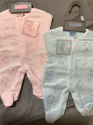 Premature Baby Girls Boys Romper 3-5lbs 5-8lbs Tiny White Pink Blue Reborn Hat
