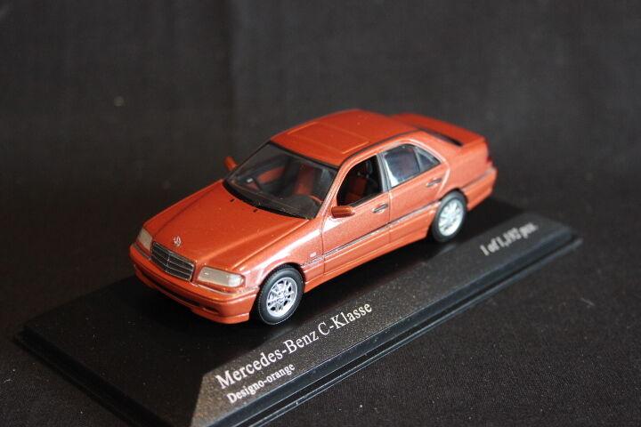 Minichamps Mercedes-Benz C-Klasse 1997 1 43 Designo-Naranja (JS)