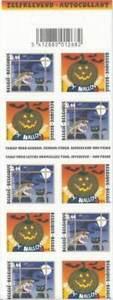 Belgium**HALLOWEEN-BOOKLET 10v@POSTPRICE-FACE VALUE-WITCH-PUMPKIN-2004-HEXE