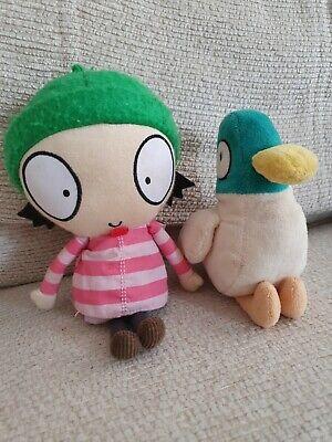 Posh Paws Sarah /& Duck Large 10//25cm Sarah Plush
