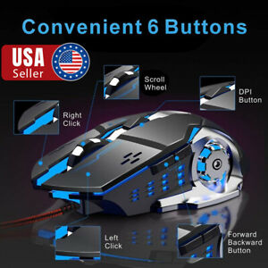 Wired-Gaming-Mouse-Silent-Click-Ergonomic-Wired-USB-Computer-Mouse