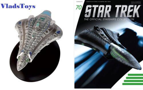 Eaglemoss Diecast Star Trek Voth City Ship #70 With Magazine