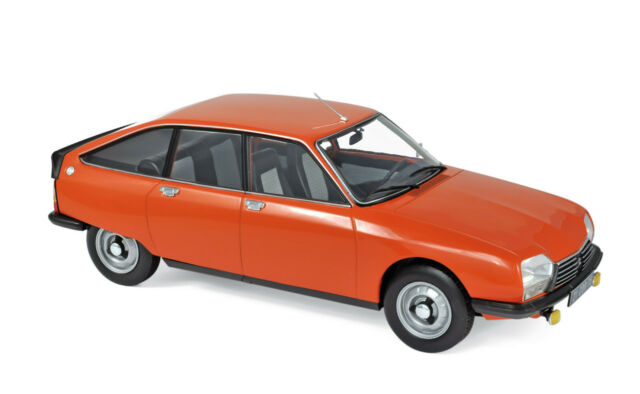 Citroen GS X2 Year 1978 Orange scale 1:18 From NOREV