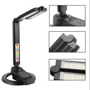 smd led schreibtischlampe lampe tisch leuchte wei warmwei 1300 lux 500 lumen ebay. Black Bedroom Furniture Sets. Home Design Ideas