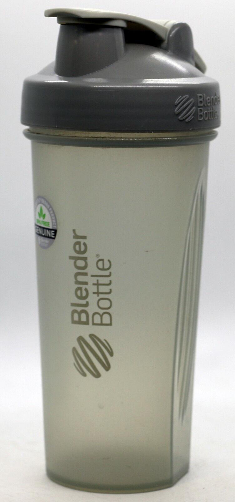Blender Bottle Classic Loop Top Shaker Bottle 20-Ounce All Black 3-Pack