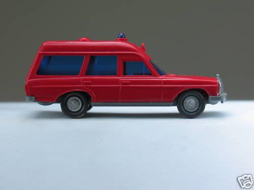 "MA 278 Wiking 1:87 GK 607//3 B FW-Krankenwagen MB-Binz 200 /"" Feuerwehr /"" o.OVP"