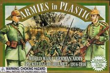 Armies in Plastic WWI German Infantry Spiked Helmet Toy Soldiers Green Ship