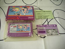 SPARTAN X KUNG-FU NINTENDO ACTION NES FAMICOM JAPAN IMPORT COMPLETE IN BOX