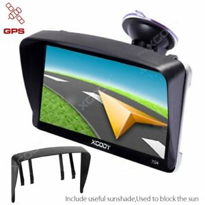 Truck Car Vehicle Portable GPS Navigation Navigator SAT NAV GB - How to use both us and canada maps in gps