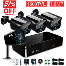 ELEC® 8CH 960H HDMI DVR 1500TVL Outdoor CCTV Night Video Security Camera System