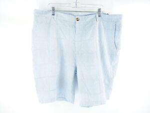 Vineyard-Vines-Women-039-s-Blue-Striped-Patchwork-Breaker-Shorts-Size-42