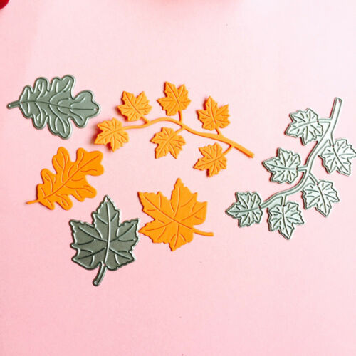 Plants Leaves Metal Cutting Dies Stencil Scrapbooking Paper Card Craft Decor