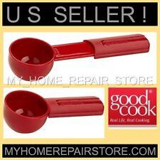 US SELLER!FREE S&H! GOOD COOK COFFEE SCOOP RED 2 TBSP EXTENDABLE MEASURING SPOON