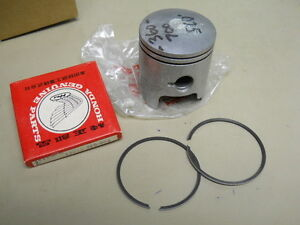 Honda-NOS-CR125-Piston-amp-Rings-OS-0-25-13102-360-700-13012-360-004-T1