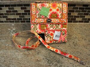 b40ced627f02 Image is loading Vera-Bradley-Julia-Folkloric-Handbag-Shoulder-Strap-amp-