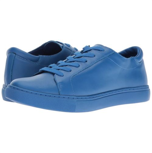 NewReaction Kenneth Cole Joey Blau Leather Lace-Up Sneackers schuhe Sz 7M
