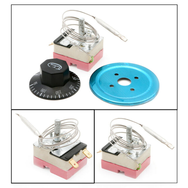 220V 16A Dial Thermostat Temperature Control Switch for Electric O Nc