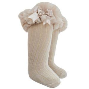 baby kinder Mädchen Knie Hoch Socken Kniestrümpfe Strümpfe aus Baumwolle