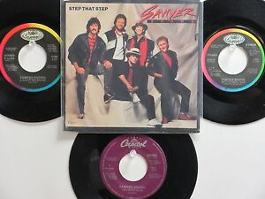 LOT OF 4 ' SAWYER BROWN ' HIT 45's+1PS[Step That Step]       THE 80's !