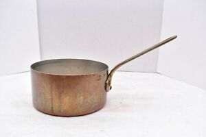 Professional Grade Copper Pot France By Mauviel For Crate Barrel Vtg Ebay