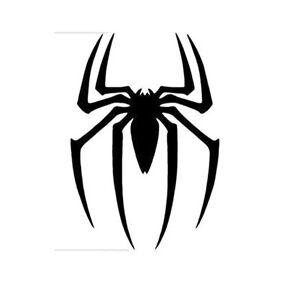 Spiderman Logo Window Sticker Vinyl Decalspider Man Big