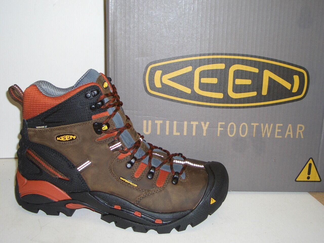Mens KEEN Pittsburgh Waterproof High Top Soft Toe Hiker Size 15 D