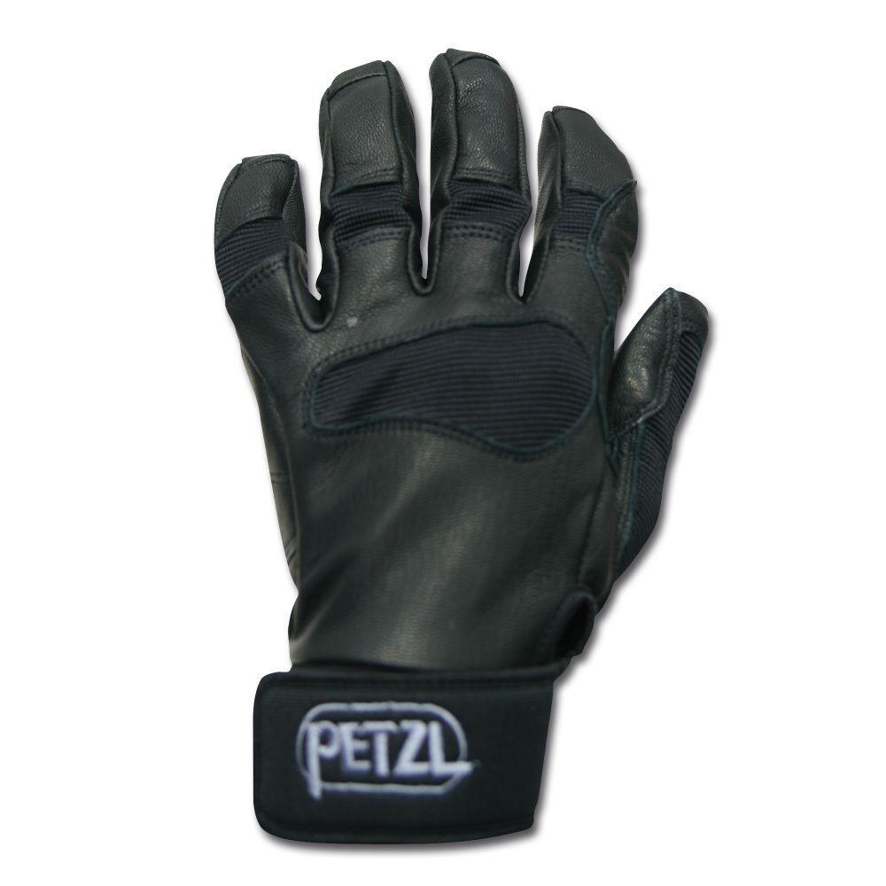 Petzl Handschuhe Cordex Plus Kletterhandschuhe Bergsteigen Abseilen black