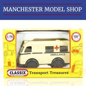Classix-EM76695-HO-OO-1-76-Austin-K8-Welfarer-Ambulance-NEW-BOXED