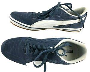 Puma-Astro-Sala-Shoes-Blue-White-362361-11-Mens-sz-9-5-Sneakers