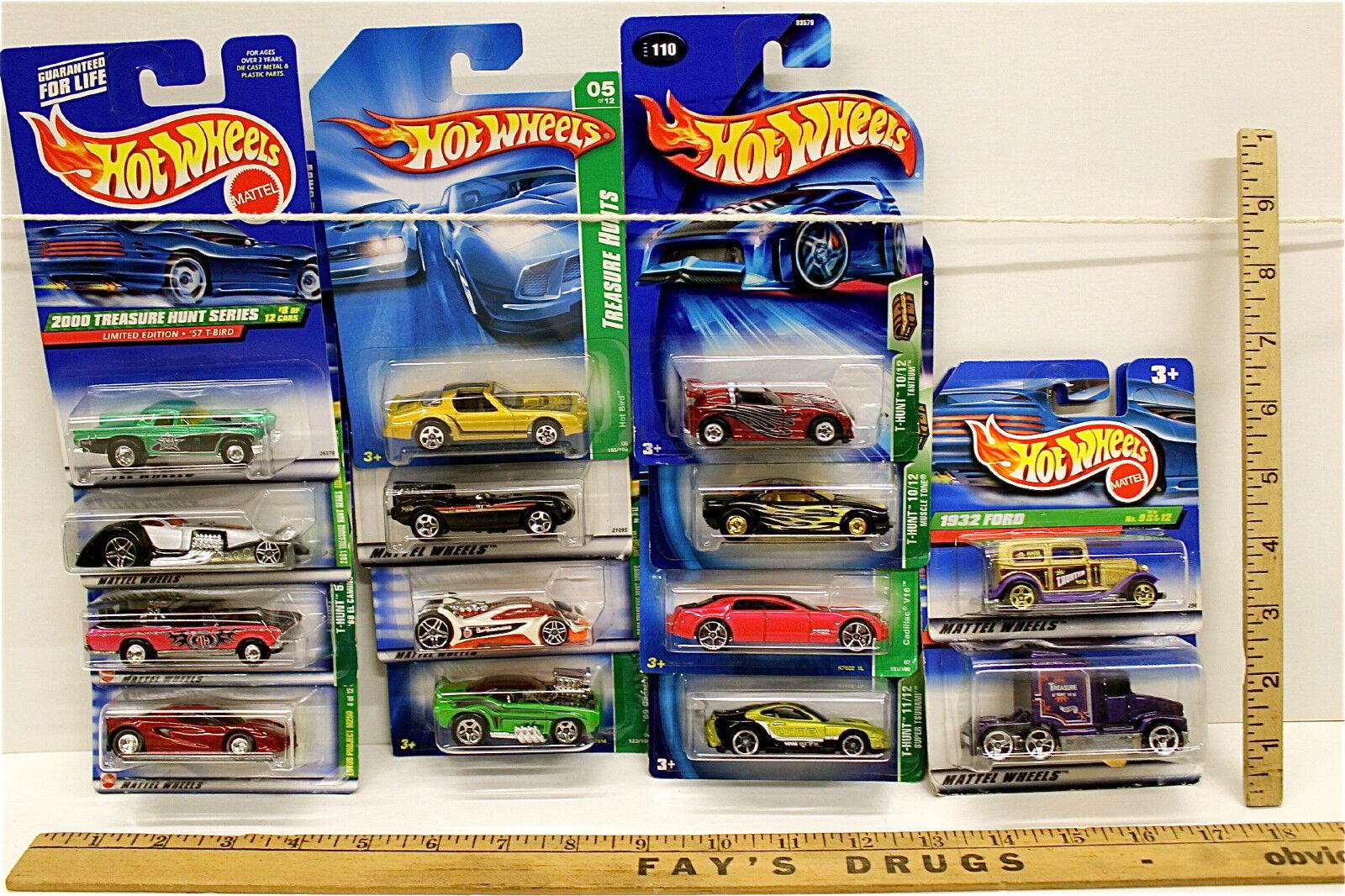 mas barato Vintage Hot Wheels Treasure Hunt Series 14 Mattel Diecast dos dos dos coches por igual Noc  ganancia cero