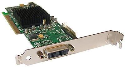 FULL HEIGHT DUAL MATROX G550 32MB AGP G55MADDA32DB GRAPHICS CARD WITH DVI CABLE
