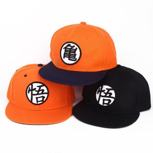 Anime Dragon Ball Z Son Goku Hip Hop Casual Adjustable Baseball Cap Snapback Hat