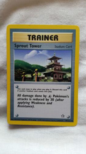 Pokemon Cards Neo Genesis make your selection