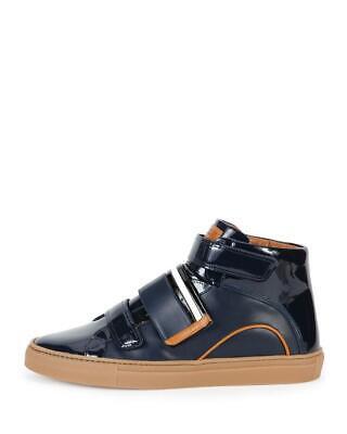 Bally Men's Herick Blue Leather Sneaker