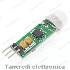 Raisonnable Hc-sr505 Mini Sensore Di Movimento Pir Infrarosso - Prossimità Presenza Arduino Design Professionnel