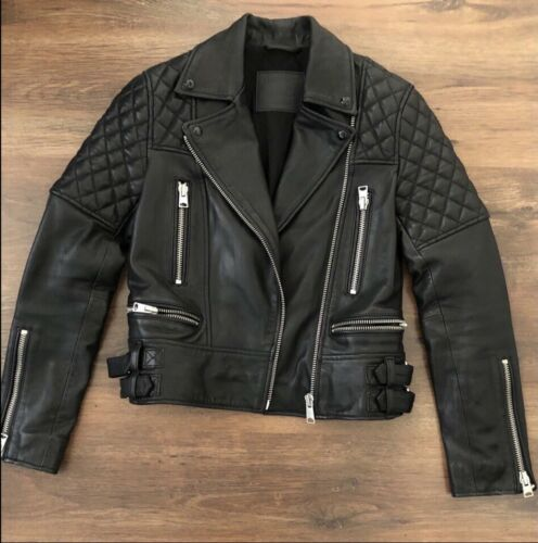 ALL SAINTS Quilted Leather Jacket - image 1