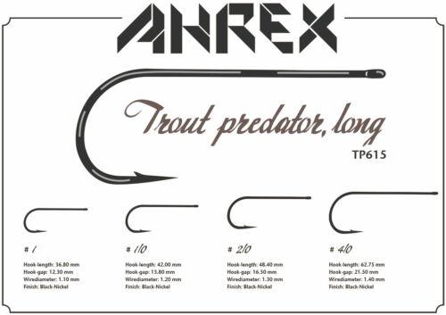 Fly Tying NEW! AHREX TP615 TROUT PREDATOR LONG STREAMER HOOK