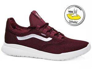 Details zu Vans Cerus Lite Mesh Laufschuh Sneaker Cabernet White Weinrot Weiß VA3MTHQ2I