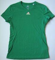 Women's Ladies ADIDAS CLIMALITE T shirt Top size medium M