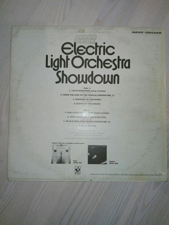 LP, Electric Light Orchestra, Showdown