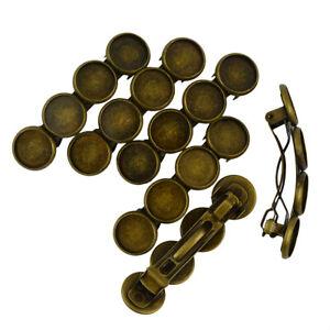 6pcs-Blank-Cabochon-Base-Bronze-Hair-Clip-Bezel-Setting-DIY-Findings-Crafts