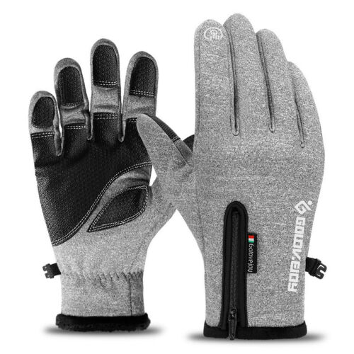 Unisex Touch Screen Windproof Waterproof Outdoor Sport Gloves Men Winter Gloves