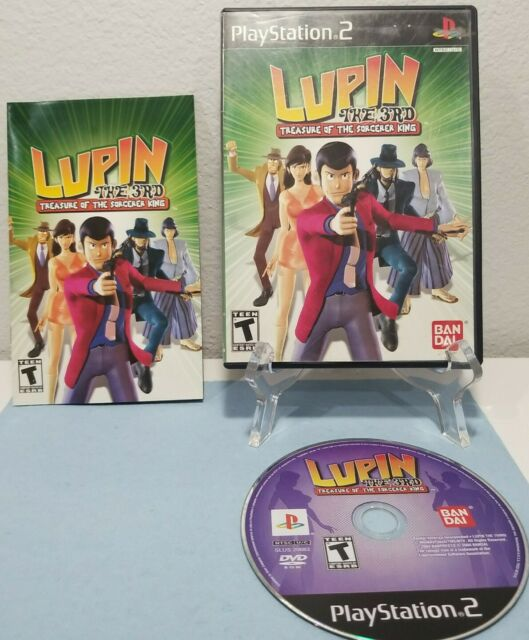 Lupin the 3rd: Treasure of the Sorcerer King (PlayStation 2) CIB COMPLETE