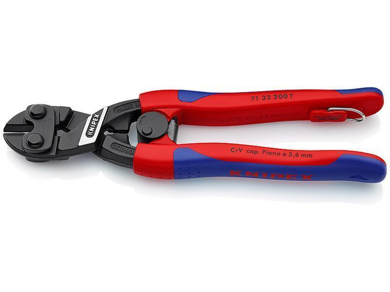 Knipex CoBolt® schwarz atramentiert 200 mm