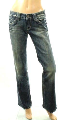 Taglia Milano Jeans Bootcut 28 Con Tasca Donna Patta Claudio 7RUnwxZR